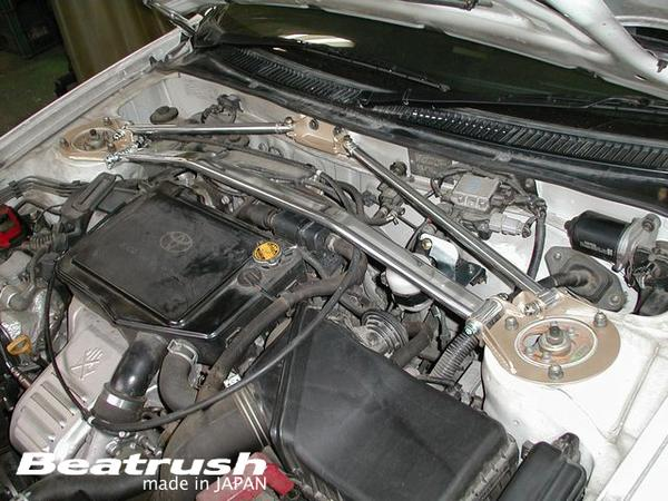 Beatrush front Tower bar 3 point type Toyota Celica LAILE rail *