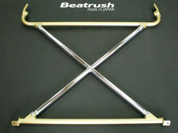 Beatrush リヤクロスビームピラーバー ホンダ インテグラ Type-R [DC2]  * LAILE レイル