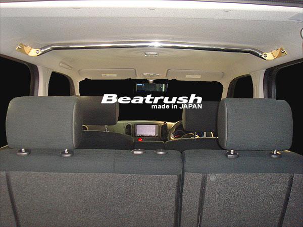 Beatrush フロントワゴンバー ニッサン キューブ[Z12] ※サンルーフ車、ガラスルーフ車取付不可  * LAILE レイル