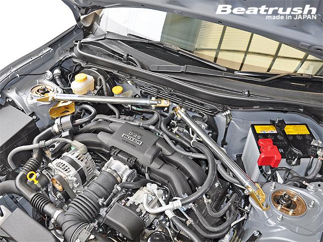 Beatrush フロントタワーバー Tyape-2 スバル BRZ [ZC6]、トヨタ 86 [ZN6]  * LAILE レイル