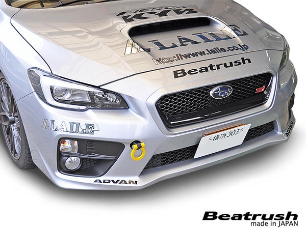 Laile Motorsports Beatrush Tow Hook Set Front Rear Subaru Wrx