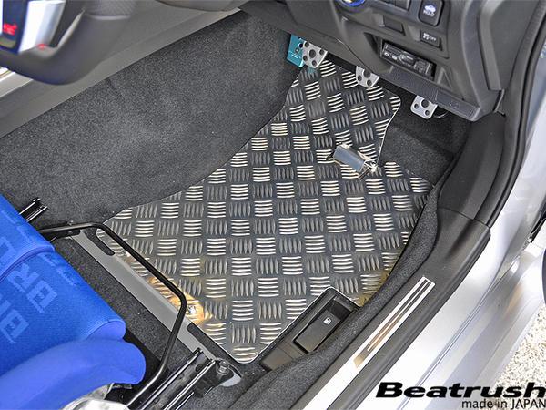 Beatrush 地板面板设置 (司机和乘客) 斯巴鲁 WRX Sti [VAB] 手动车 * LAILE 铁路 P15Aug15