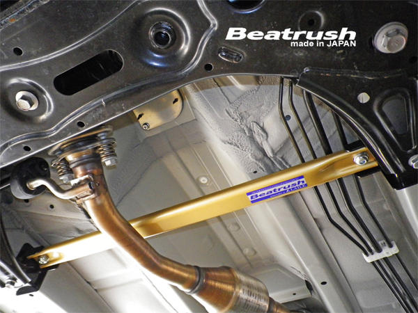 Beatrush フロントフロアー補強バー スズキ アルトターボRS、アルトワークス [HA36S]  * LAILE レイル