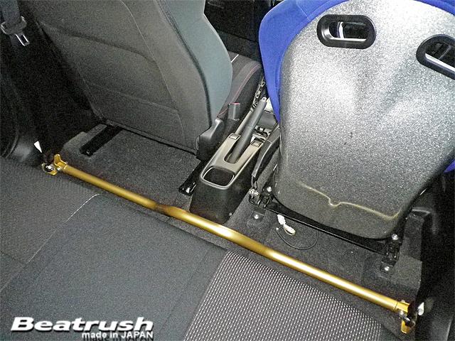 フロアーを補強することで車体のネジレ剛性アップを図ります。 Beatrush フロアーパフォーマンスバー スズキ スイフトスポーツ[ZC33S]【送料無料】 * LAILE レイル