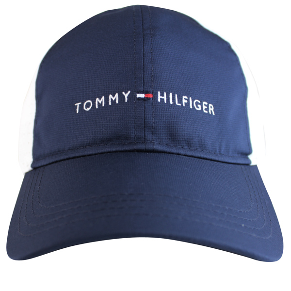 トミーヒルフィガー Tommy Hilfiger magic tape cap men gap Dis white