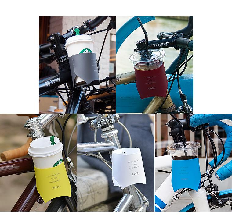 享受 MOCA 摩卡杯饮料架为杯架杯你最喜欢的地方。 持有人自行车配件自行车配件咖啡日本零件