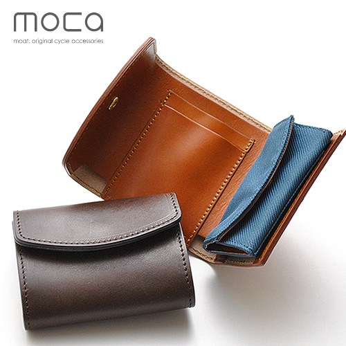 【 送料無料 】moca (モカ) デュアルウォレット 財布 日本製 コインケースが取り外しできる経年変化を楽しむコンパクトサイズのレザーウォレット。 財布 二つ折り 小銭入れ メンズ レディース プレゼント