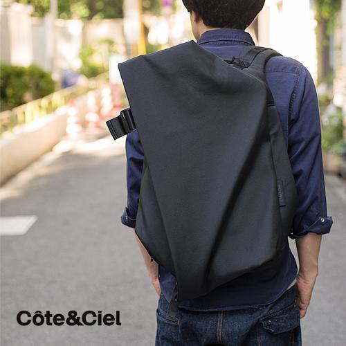 Cote&Ciel (コート エ シェル) IsarRucksackBag L/Laptop Rucksack(15-17インチ) ノートパソコンやMacbookを収納できる斬新なデザインと機能性を兼ね揃えたバッグ。 リュック バックパック メンズ レディース ユニセックス コトエシエル コート&シエル