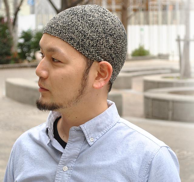 便帽伊斯兰套2大小制造伊斯兰展开!最终到达了理想的形状的伊斯兰帽子☆ビーニー好编织物便帽帽子人的