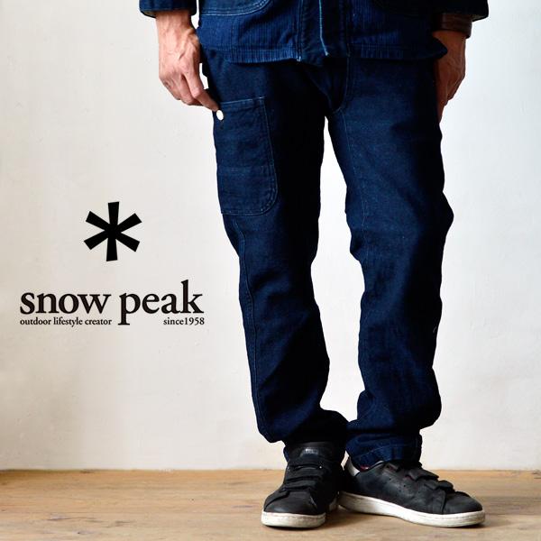 snow peak スノーピーク Noragi Pants ノラギパンツ ウェア ボトムス 防寒 メンズ アウトドア 日本製 岡山 エイジング