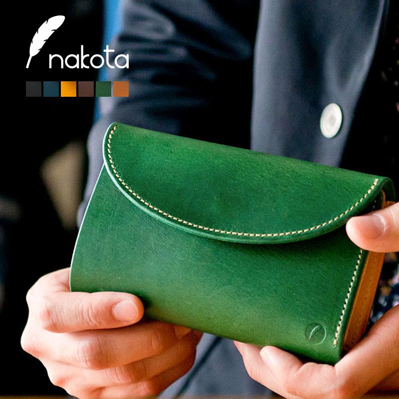 Nakota(ナコタ)3FOLD WALLET BUTTERO 3つ折り 財布 日本製 レザー ウォレット ブッテロ ライフスタイルに刻々と深い味わいが。色、風合い、艶感のすべてが別物。 本革 ヌメ革 贈り物 メンズ レディース 革小物