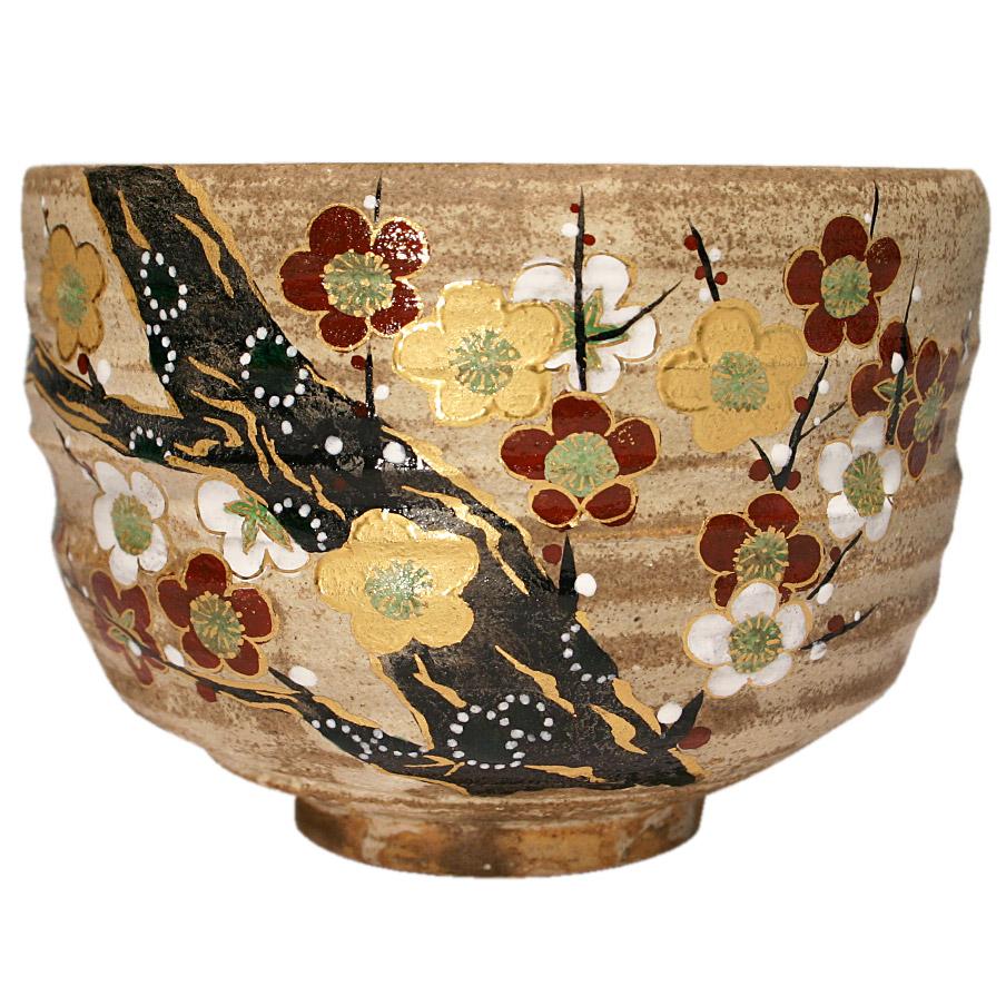 【送料無料】抹茶椀 梅の香