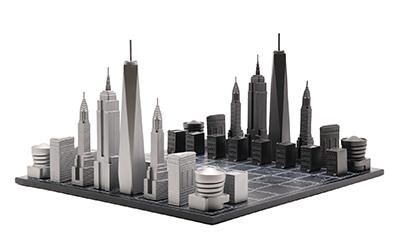 【激安】 【Skyline Chess】スカイラインチェス プレミアムメタル NY ニューヨーク 木製ボード Premium【Skyline Metal エンパイアステート ワンワールドトレード グッゲンハイム美術館, アドキッチン:debe1024 --- onlinecamp.medetalks.com