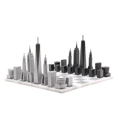 【国内正規品】 【Skyline Chess】スカイラインチェス プレミアムメタル NY ニューヨーク 大理石【Skyline Marble ボード ボード Premium Premium Metal エンパイアステート ワンワールドトレード グッゲンハイム美術館, NISHIKI:939bc9b4 --- amgaclub.ru