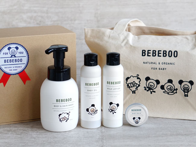 【BEBEBOO】ベベブーBEBEBOO GIFT SET/ギフトセット/ベベブー/プレゼント/出産のお祝い/贈り物/送料無料