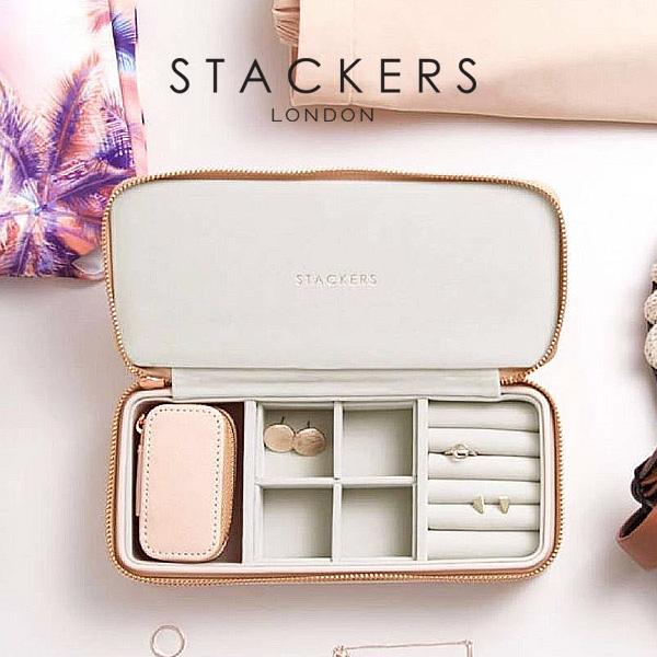 Travel Jewelry Box L Pink U K Tucker Jewelry Case Brush Pink Taupe Accessories Case U K London Jewelry Box Travel Jewelry