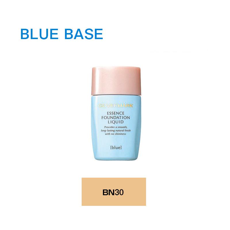 うるおいを閉じ込めて みずみずしい透明美肌 春の新作 COVERMARK 正規品 カバーマーク ジャスミーカラー エッセンス ベースメイク 透明肌 ブルースベース BN30 化粧品 現金特価 リキッド ファンデーション