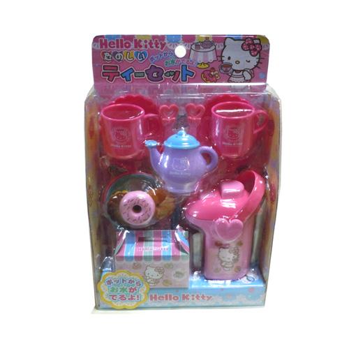直営ストア 女の子 玩具 ポット ちいさな おもちゃ きてぃー おんなのこむけ キティー Kitty お店屋さん ままごと かわいい Hello ドーナツ SEAL限定商品