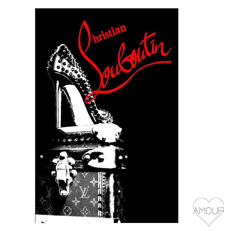 【LA直輸入】【Amour Art】 CL MIDNIGHT アート オマージュアート ファッションアート アモア アモアアート 海外セレブ 直輸入 キャンバス アクリル メタル ラメ ロサンゼルス