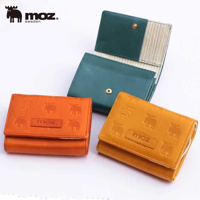 【moz】モズ 財布 レディース 二つ折り