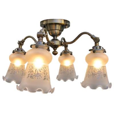 サンヨウ アンティーク照明 4灯シーリングランプ SS1304A 315