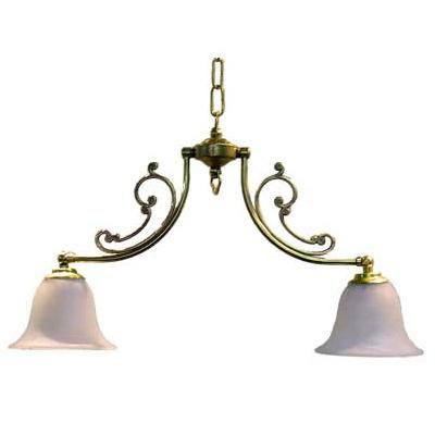 サンヨウ アンティーク照明 2灯 シャンデリア CP20G 416