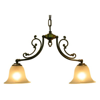 サンヨウ アンティーク照明 2灯 シャンデリア CP20AB 416