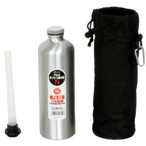 メルテック 驚きの値段で 大自工業 アルミガソリン携行缶 1L 新作 人気 FK-06