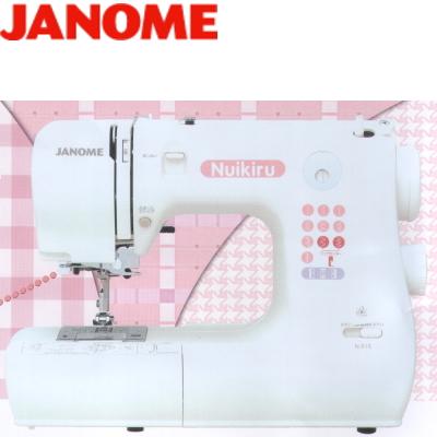 JANOME ジャノメ 家庭用ミシン ヌイキル NuikiruN-515