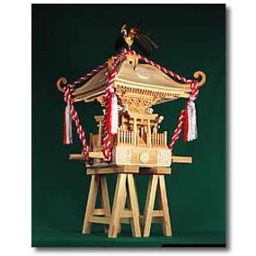 ウッディジョー 木製模型 【1/5 町みこし】