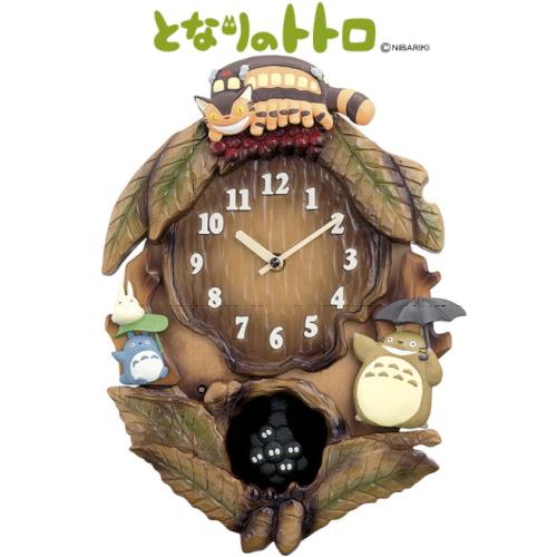 CITIZEN シチズン トトロM837N となりのトトロ 掛け時計 [4MJ837MN06] 【掛時計】