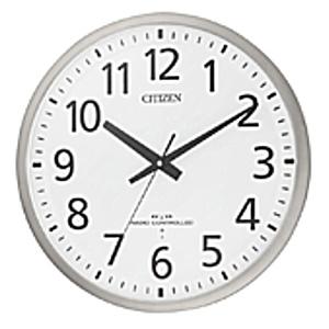 CITIZEN シチズン 電波掛時計 スペイシーM463 8MY463-019 [8MY463019]