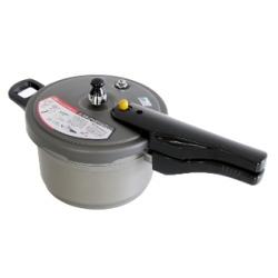 【IH対応]】北陸アルミニウム[ホクア] IH リブロン 圧力鍋 片手式 2.8L