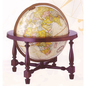 リプルーグル 地球儀 球径30cm コロニアル型 【日本語版】31772