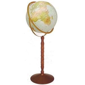 リプルーグル 地球儀 球径30cm シーフェアラー型 【日本語版】33873