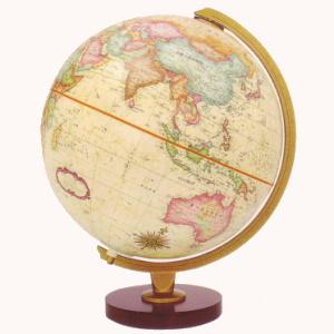 リプルーグル 地球儀 球径30cm パノラマ・アンティーク型 【日本語版】 83572