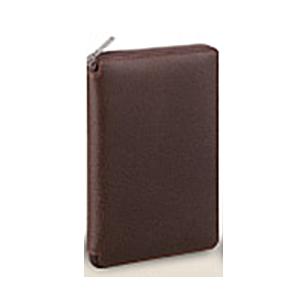 【送料無料】 レイメイ ダ・ヴィンチ グランデ ピッグスキン 聖書サイズシステム手帳 ラウンドファスナータイプ DB1402 C ブラウン