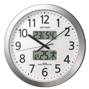 リズム時計 RHYTHM プログラムカレンダー404SR 4FN404SR19