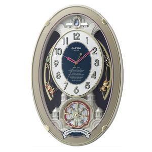 リズム時計 RHYTHM スモールワールドウィッシュ 4MN544RH18