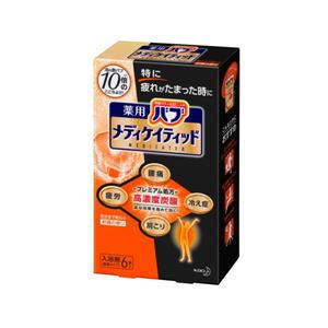 花王 バブ メディケイティッド 柑橘の香り 6錠入×16個[ケース販売]