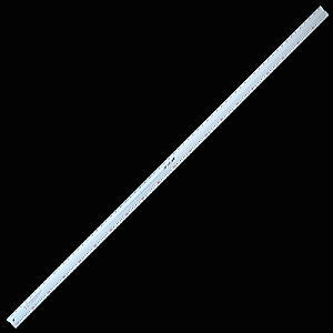 【大型便・時間指定不可】シンワ測定 アルミカッター定規 カット師 2m 併用目盛 65091