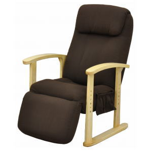 【メーカー直送 代引不可】【送料無料】【組立品】 エイ・アイ・エス ハイバック高座椅子 NIS-TKZ01 BR
