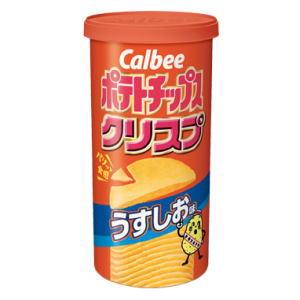 こちらの商品は送料半額対象外です カルビー ポテトチップスクリスプ うすしお味 50g×12個[ボール販売]