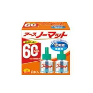 売れ筋 アース製薬 アースノーマット 配送員設置送料無料 取替えボトル 60日用 2本入 無香料