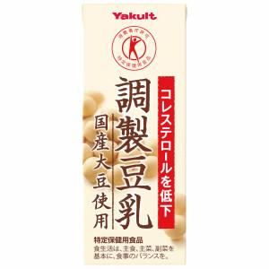こちらの商品は送料半額対象外です 好評受付中 4箱まで1個口ヤクルト調製豆乳 日本産 国産大豆使用200ml紙パック×24本入 ケース販売