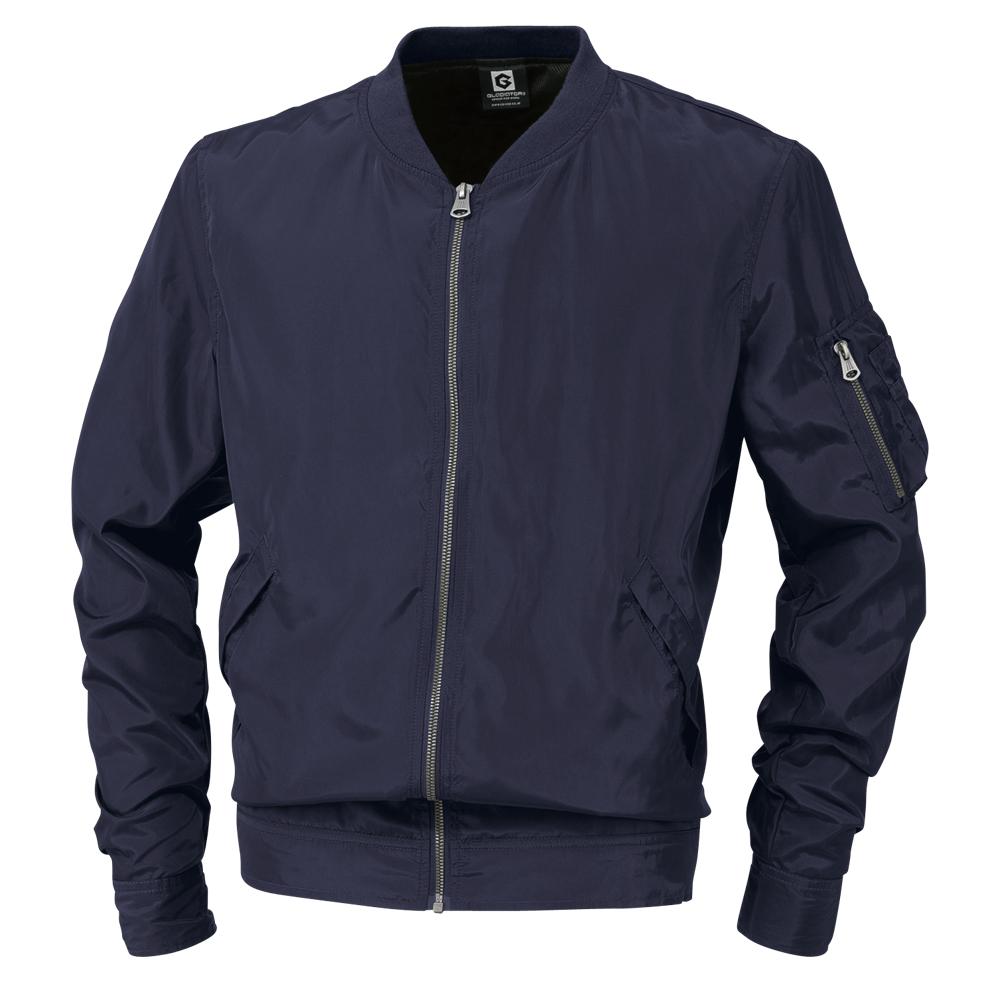 グラディエーター フライトジャケット ウィンドブレーカージャケット ネイビー 大幅にプライスダウン G7010 LL 店舗