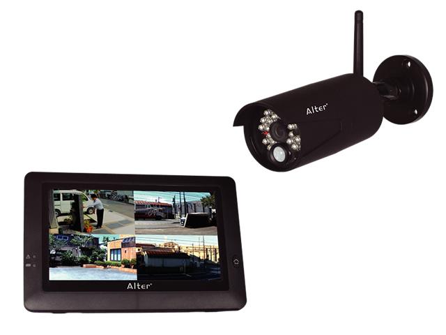 キャロットシステムズ ハイビジョン無線カメラ&モニターセット AT-8801