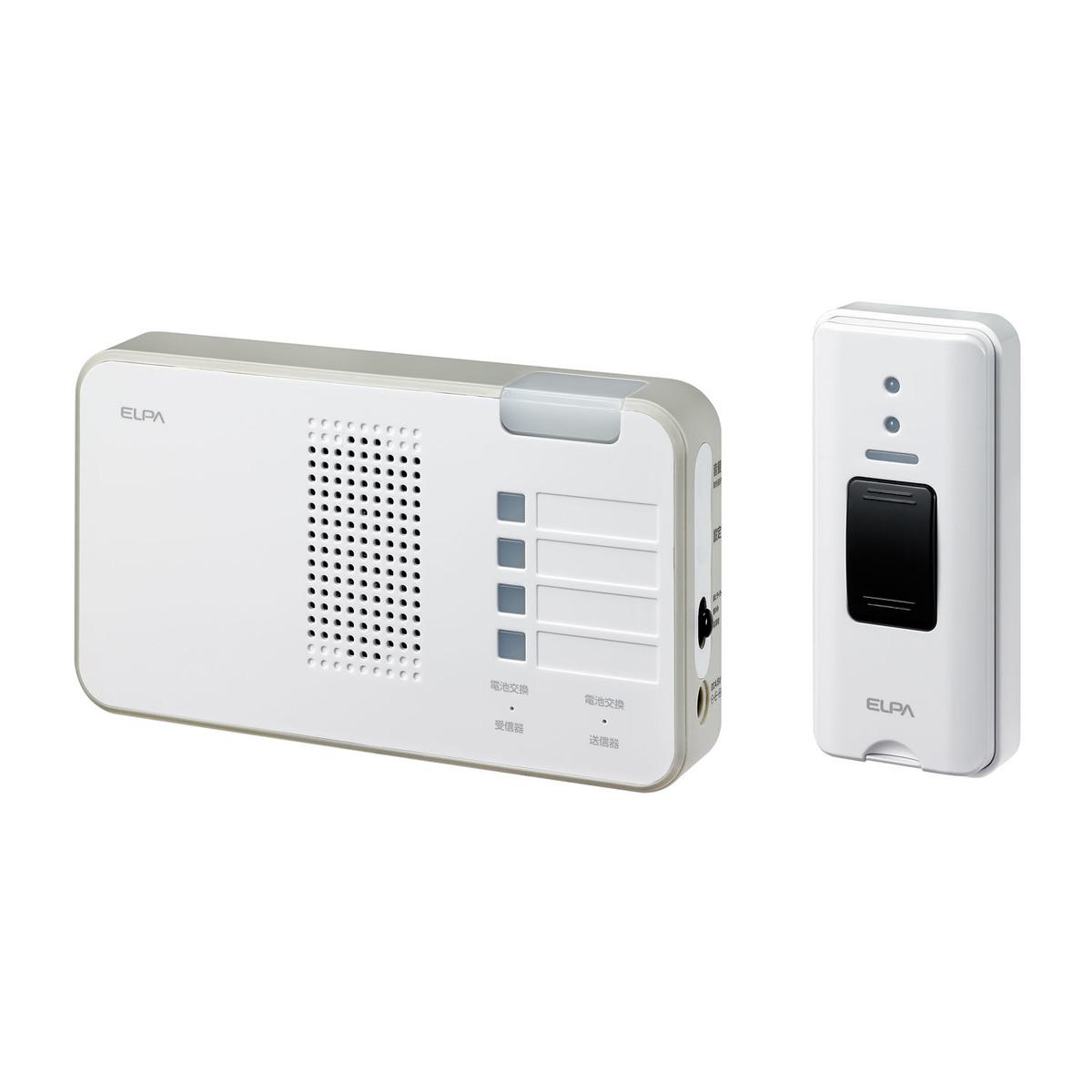 半額 朝日電器 エルパ ワイヤレスチャイムランプ付きセット 待望 EWS-S5230