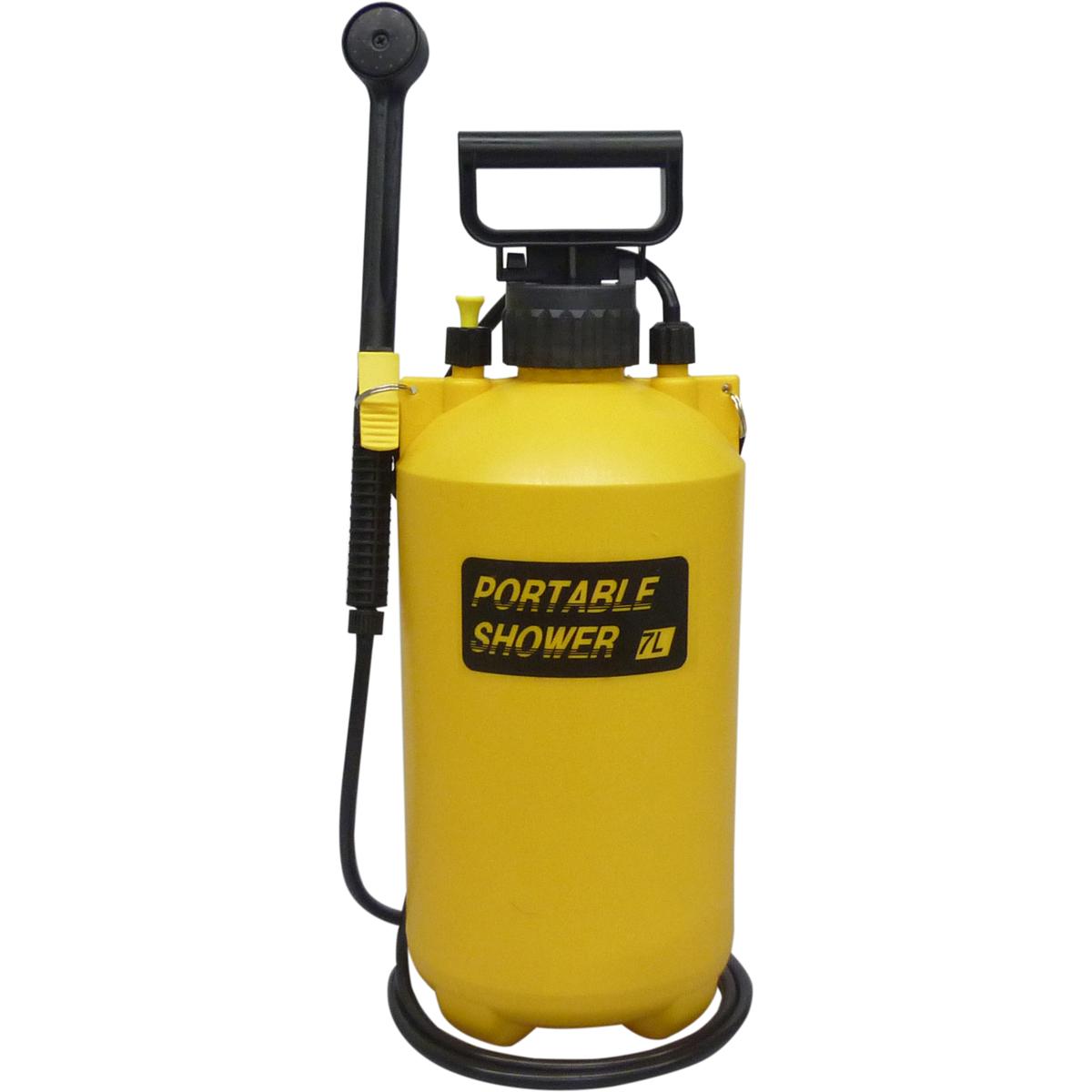 マルハチ産業 蓄圧式 SALENEW大人気 男女兼用 ポータブルシャワー 3050190 7L