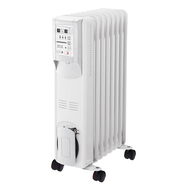 スリーアップ Hidamari マイコン式 オイルヒーター(リモコン付) ホワイト OHT-1556WH